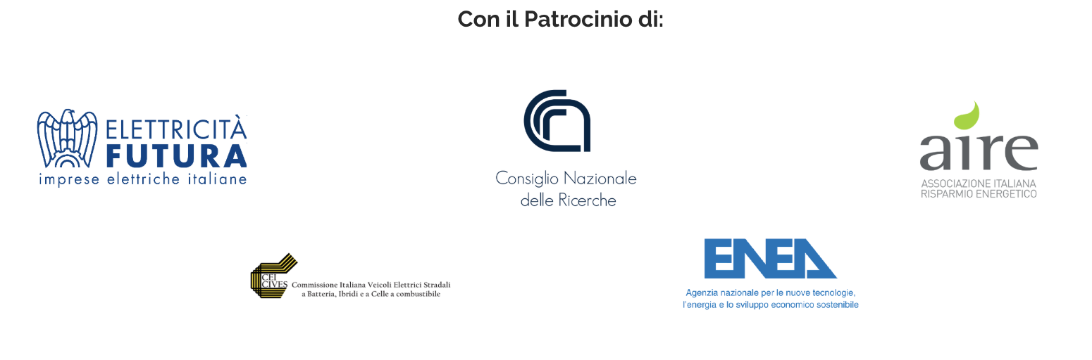Patrocini dell'evento Tesla Club Italy Revolution 2018